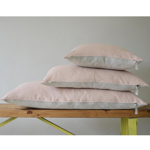 Pillow - Linnen Pale Blush Natural 40x60 cm