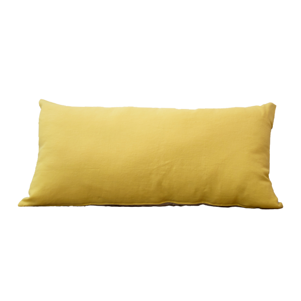 Pillow - Linnen Primrose Yellow Natural 40x80 cm