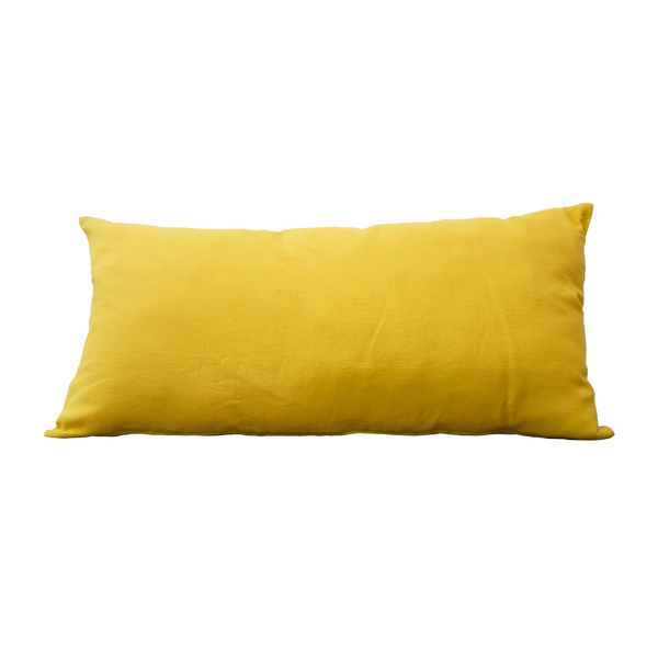 Pillow - Linnen Warm Yellow Natural 40x80 cm