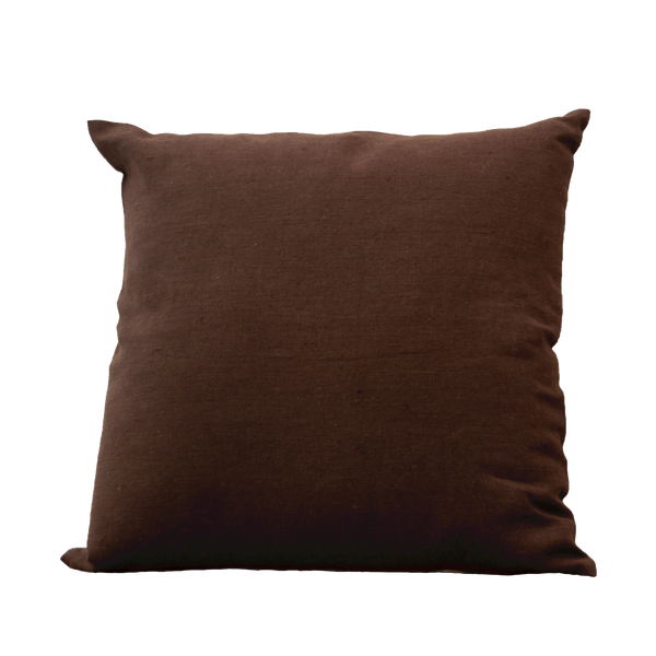 Pillow - Linnen Dark Brown Natural 45X45 cm