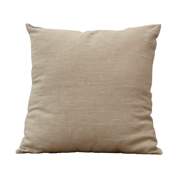Pillow - Linnen Primrose Yellow Natural 45x45 cm