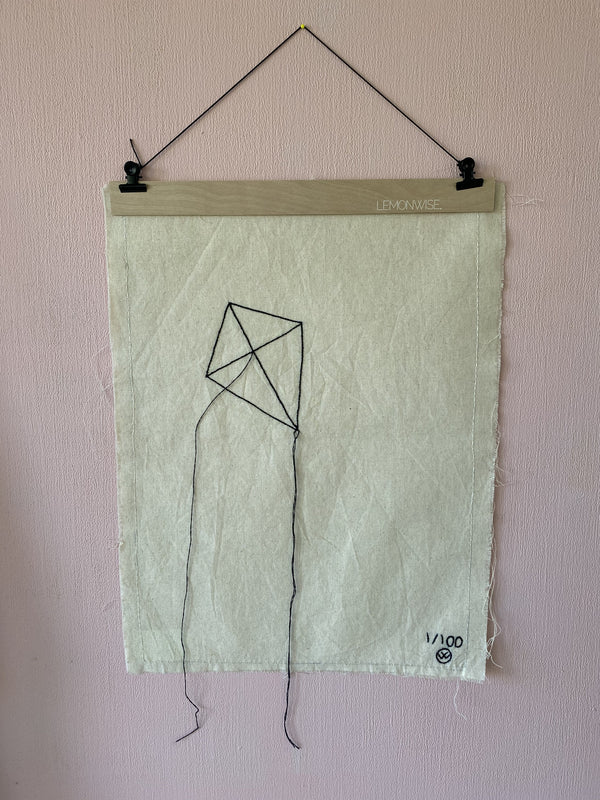 "Stitched Art ""Kite"" Limited Edition"
