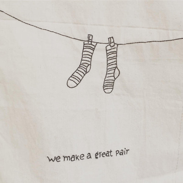 "Stitched Art ""Socks Pair"" Limited Edition"