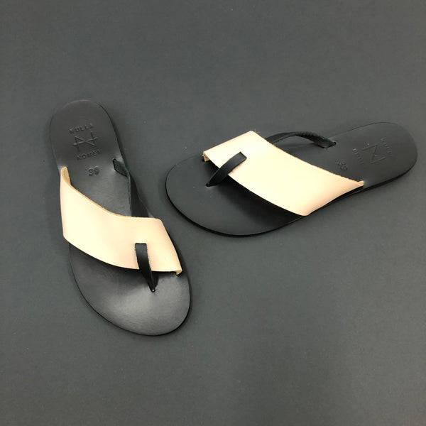 Slippers - Beige Strap
