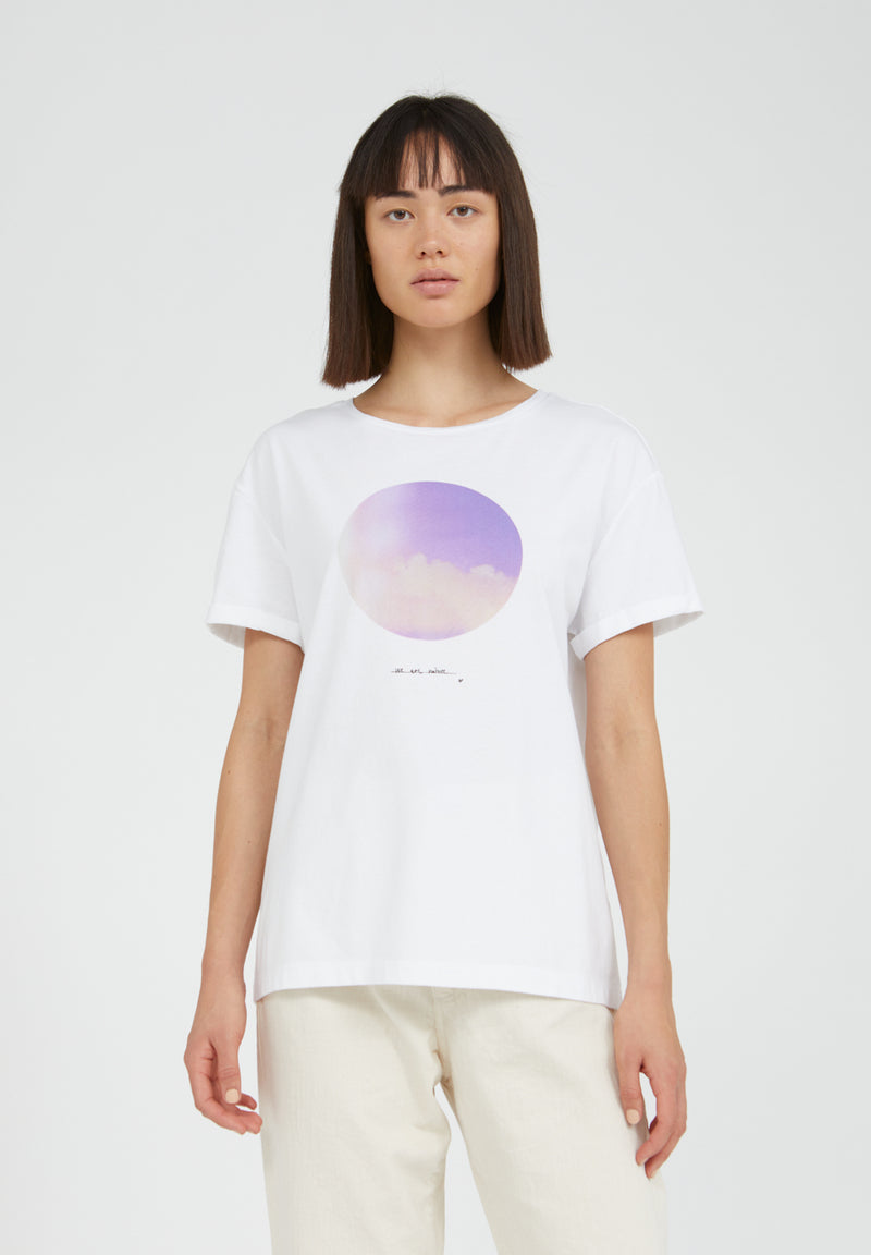 T-Shirt Naalin- VEGAN- Light and Clouds