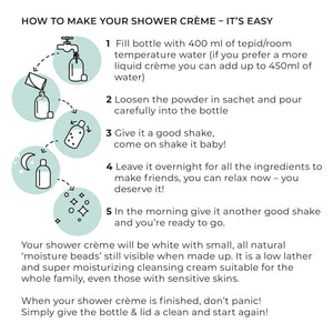Zero Waste Shower Crème Refill - Refill Mill