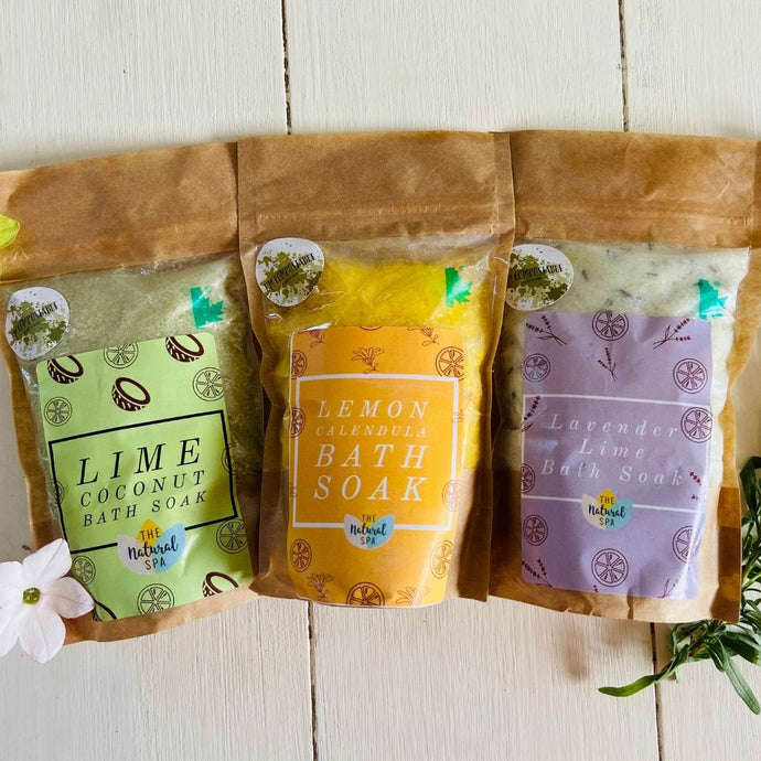 Luxury Bath Salts Gift Set - Refill Mill