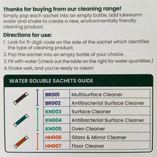 Load image into Gallery viewer, Antibacterial Cleaning Sachets - Floor Cleaner - Refill Mill