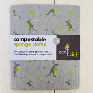 Compostable Sponge Cloths - Refill Mill