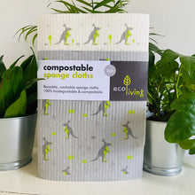 Load image into Gallery viewer, Compostable Sponge Cloths - Refill Mill
