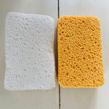 Load image into Gallery viewer, Compostable Sponge & Scourer Dual Pack - Refill Mill