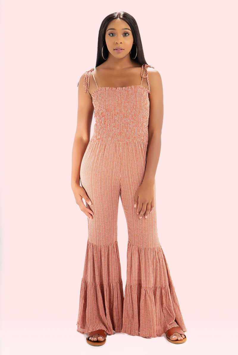 Coral Bell Jumpsuit