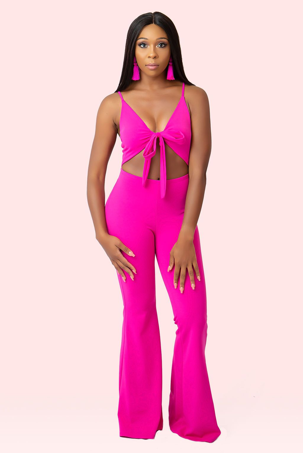 Pink Highlight Jumpsuit