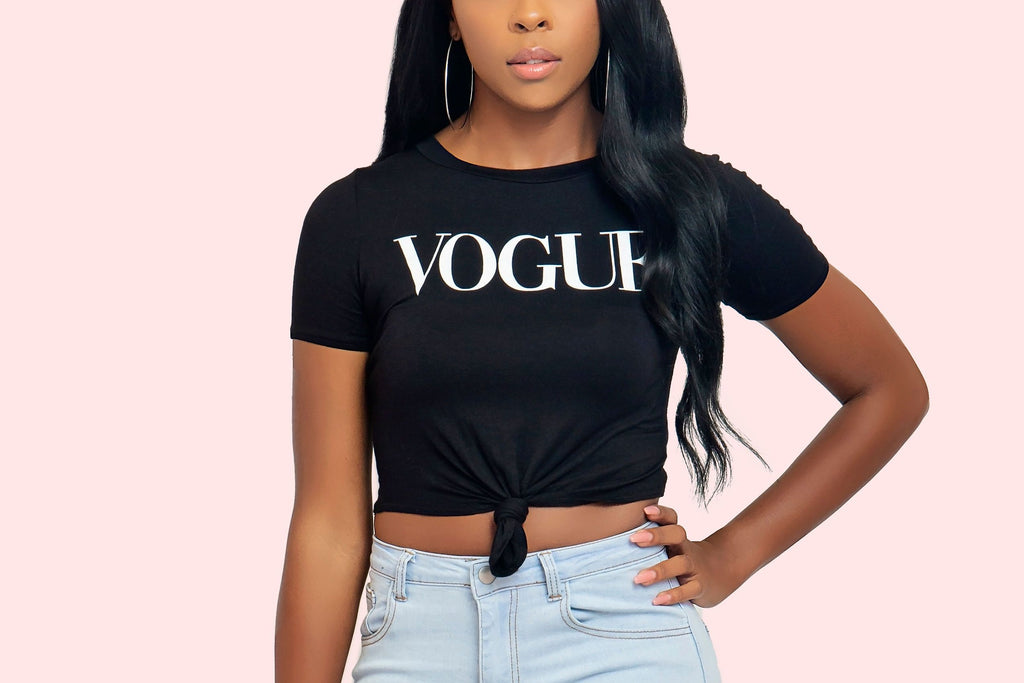 Vogue Top (Black)