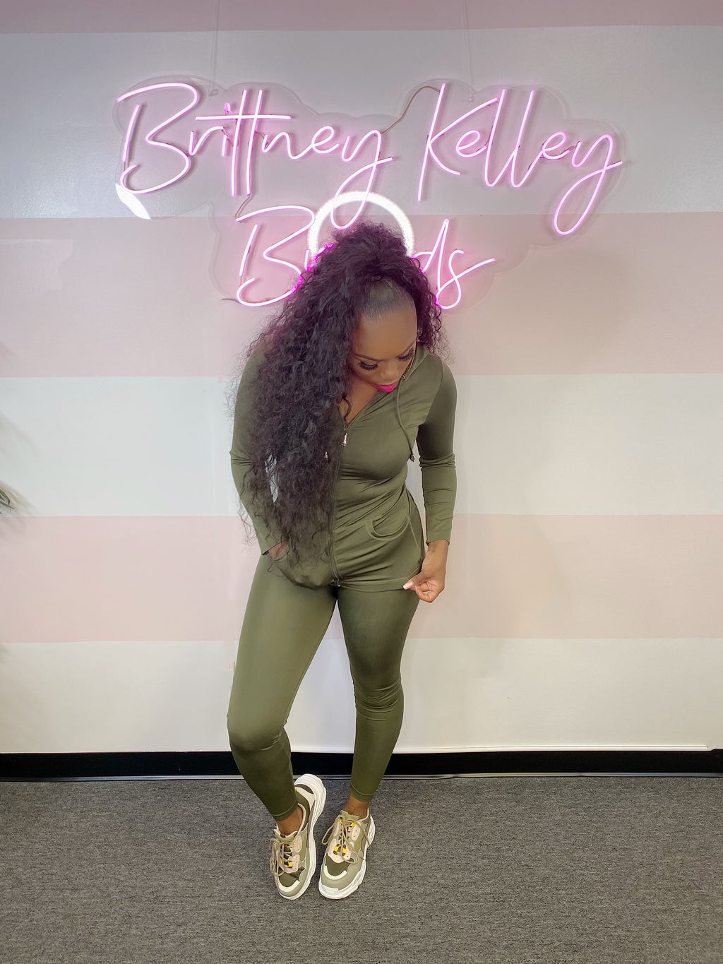 Barbie Chill Set (Olive)