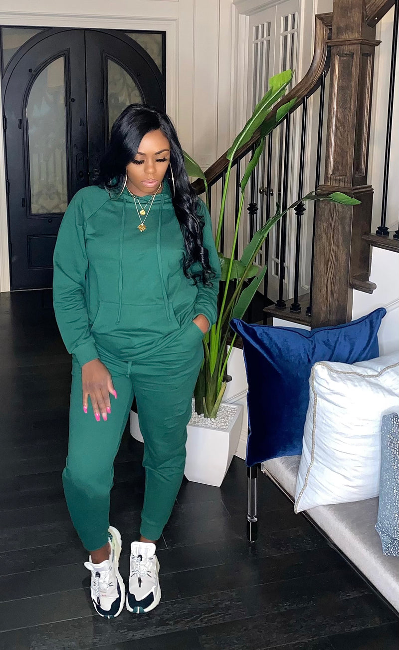 Stay Cozy Set (Green)