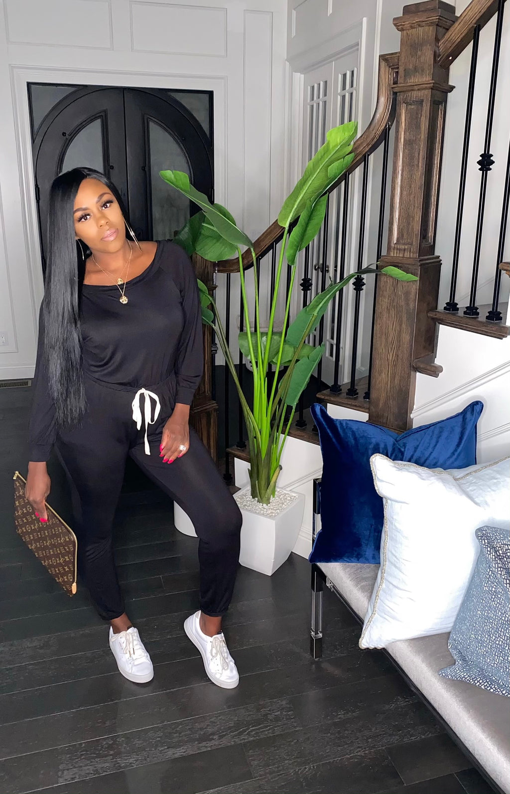 The New Cozy Jumpsuit (Black)