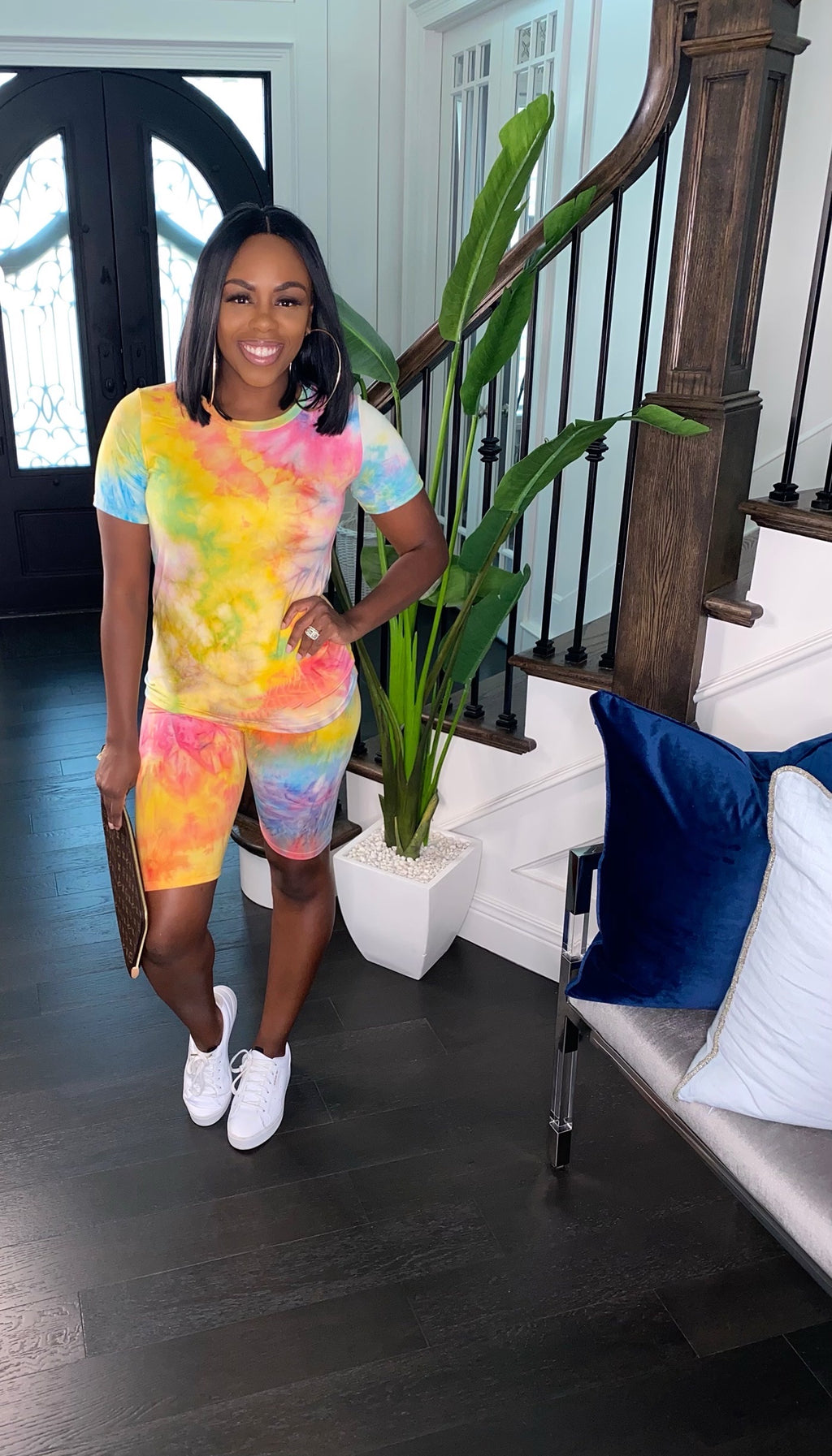 Tie Dye Cotton Candy Set