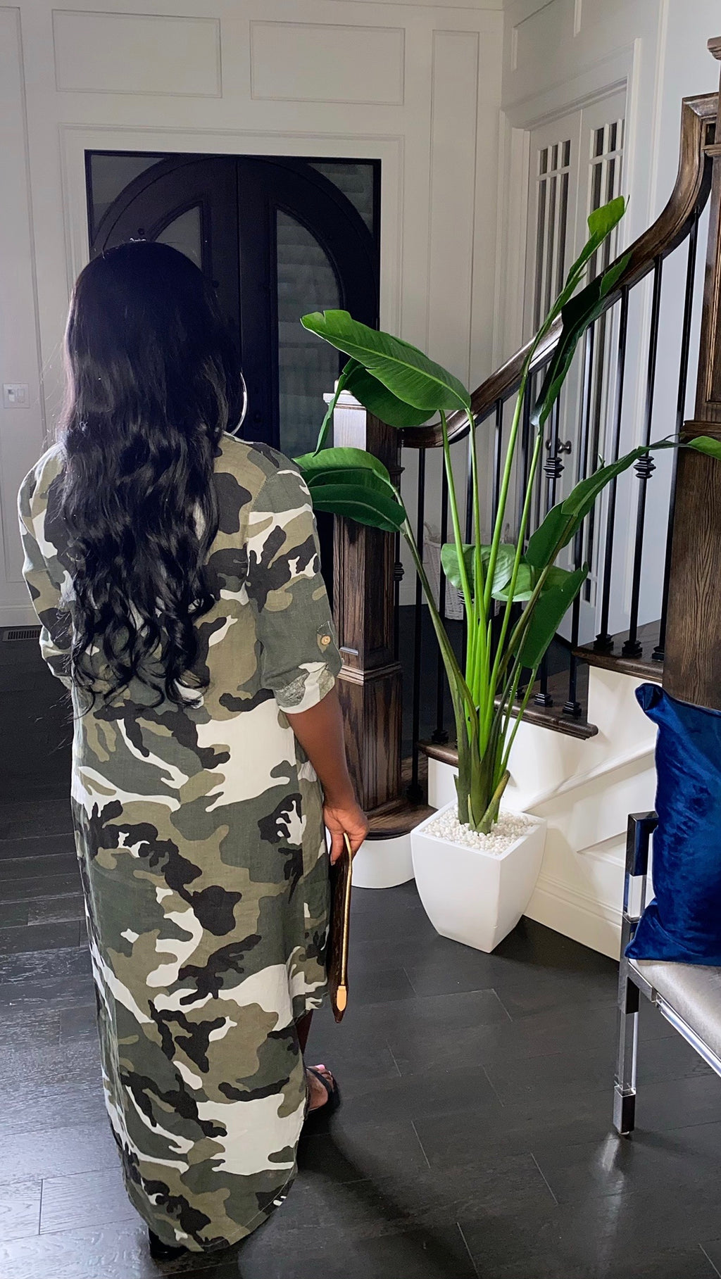 Army Sequin Dress