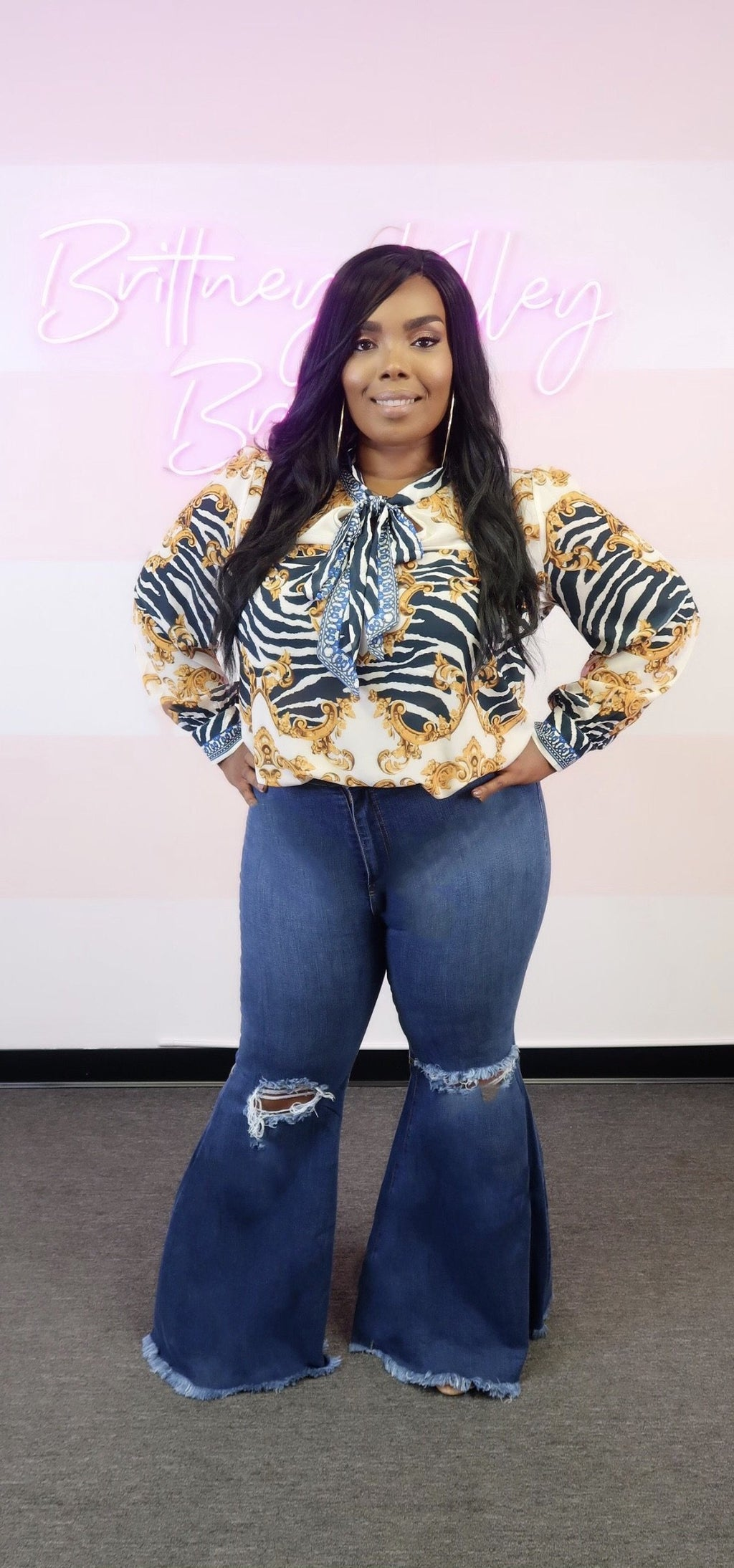 Queen Bee Jeans Curve