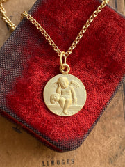 Memento Mori Guardian Angel Necklace