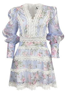 Antonia Amo Couture Floral Dress