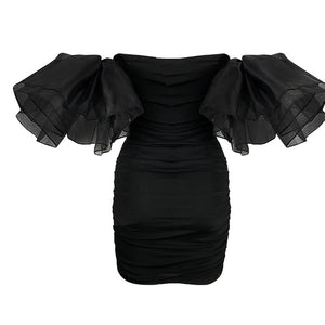 Casino Black Amo Couture Dress