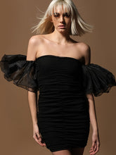 Load image into Gallery viewer, Casino Black Amo Couture Dress