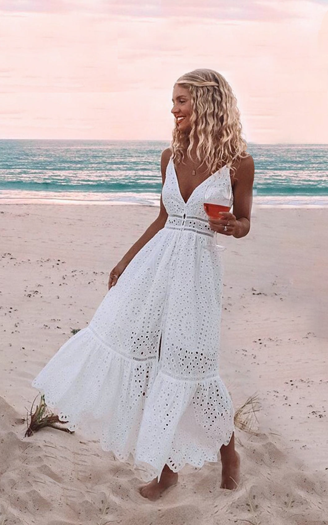 Bronte Amo Couture White Dress