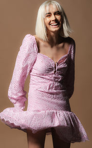 Kiki Pink Amo Couture Dress