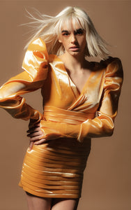 Goldie Amo Couture Layered Dress