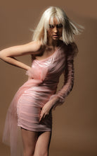 Load image into Gallery viewer, Rosabell Pink Amo Couture Mini Dress
