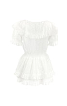 Load image into Gallery viewer, Lady Smock Amo Couture White Dress