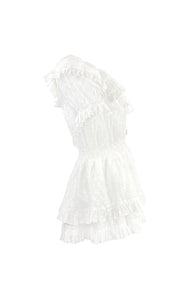 Lady Smock Amo Couture White Dress
