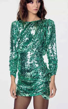 Load image into Gallery viewer, Ariel Amo Couture Sequin Dress
