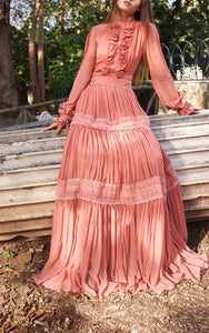 Valeria Amo Couture Maxi Dress