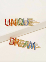 Load image into Gallery viewer, Unique Dream Rhinestone Hairpin