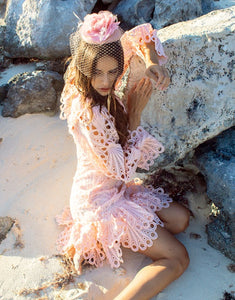 Clarabelle Pink Amo Couture Dress