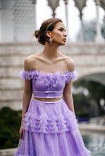 Load image into Gallery viewer, Amelie Baku VIoletta Gown Scarlt UAE