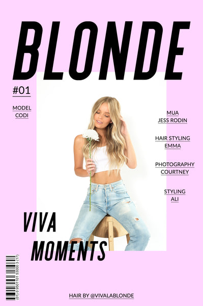 Creating subtle wavy hair in 2018 with viva la blonde
