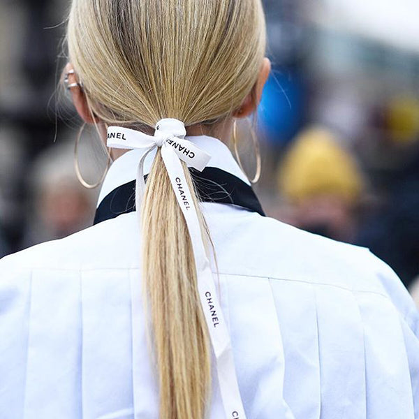 Hair Ribbon Trend | Viva la blonde Perth