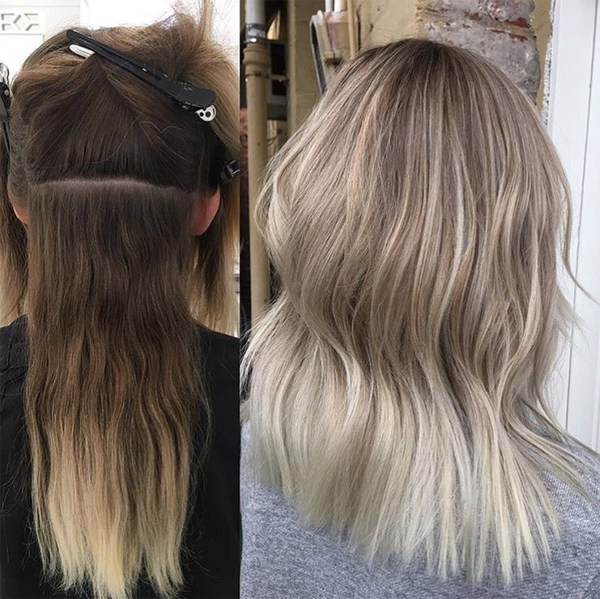 Brunette to Blonde Hair Transformations | viva la blonde