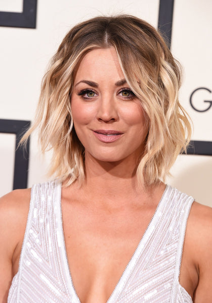 Kaley Cuoco celebrity hair tip