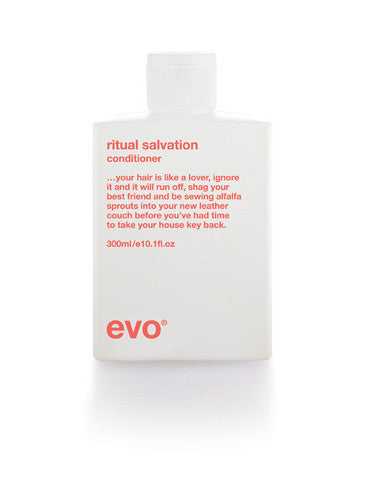 Evo Ritual Salvation hair conditioner on whitebackground available at Viva La Blonde