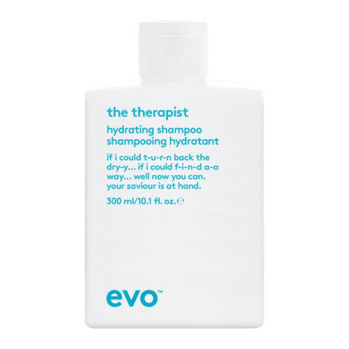 Evo The Therapist hydrating Shampoo on whitebackground available at Viva La Blonde