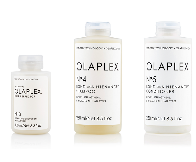 OLAPLEX 3, 4 & 5 Bond Maintenance Complete Package available at Viva La Blonde
