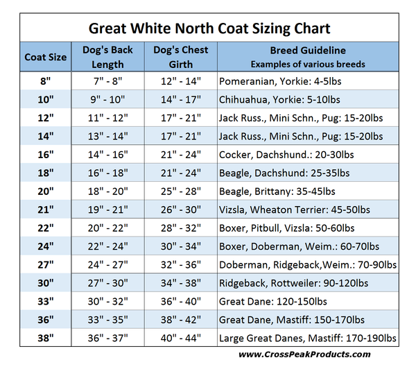 great_white_north_sizing_chart