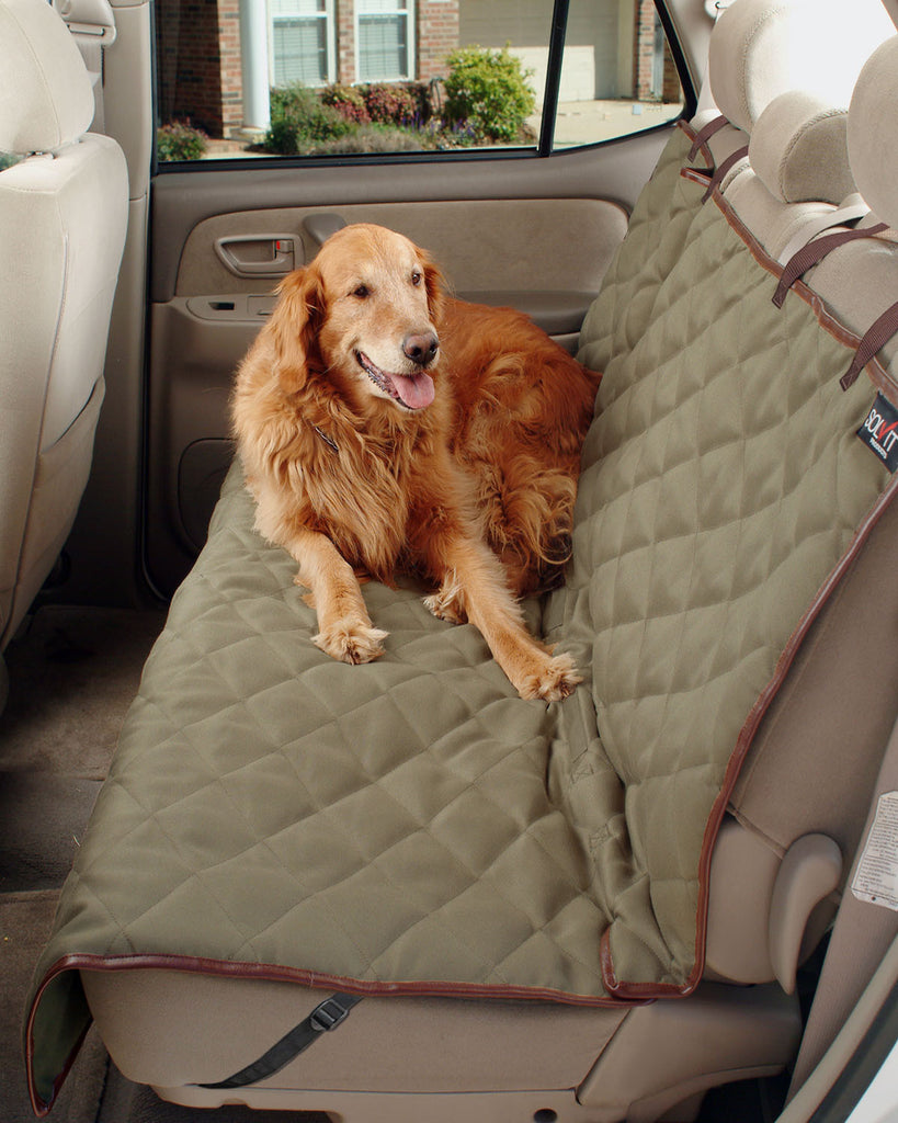 Deluxe Sta Put Bench Seat Cover By Solvit
