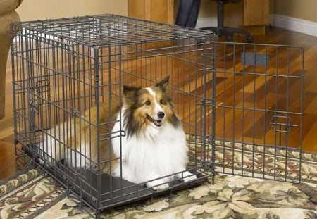 Midwest Select Wire Dog Crate - Triple Door Access