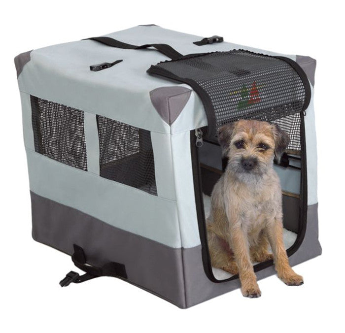 Midwest Canine Sport Camper Travel Dog Crate, Portable